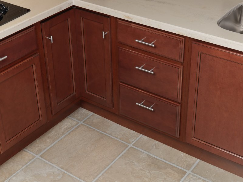 Seacrest birch cabinets bar cabinet for Quality cabinets